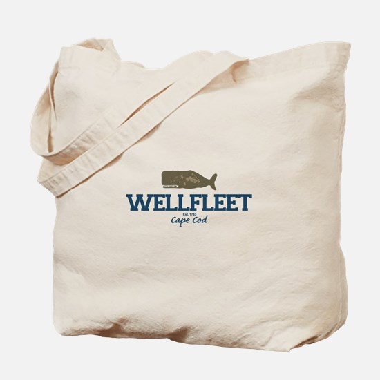Wellfleet - Cape Cod Massachusetts. Tote Bag