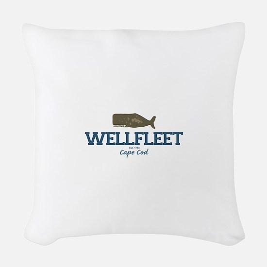 Wellfleet - Cape Cod Massachus Woven Throw Pillow