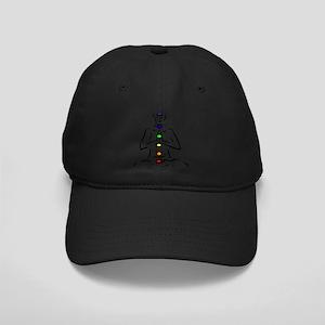 Chakras Align Black Cap