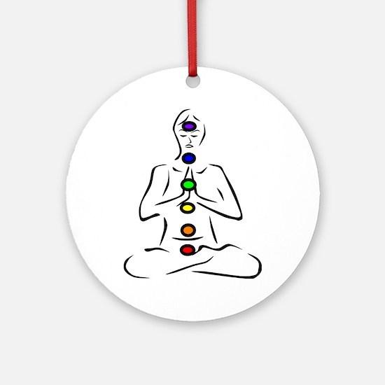 Chakras Align Ornament (Round)