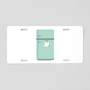 IceBox_Base Aluminum License Plate