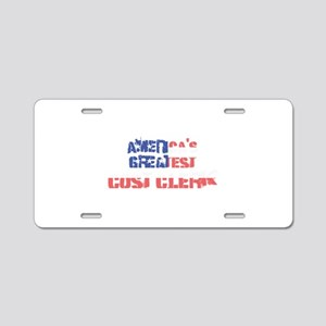 America's Greatest Cost Cle Aluminum License Plate
