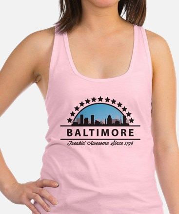 state13light.png Racerback Tank Top