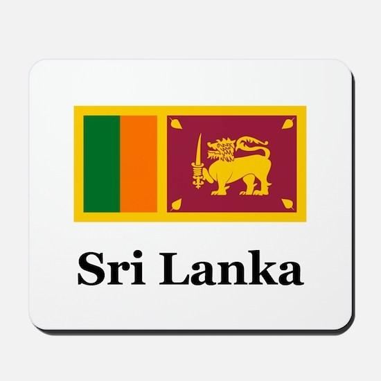 Sri Lankan Heritage Sri Lanka Mousepad