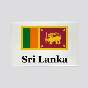 Sri Lankan Heritage Sri Lanka Rectangle Magnet