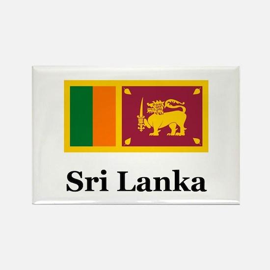 Sri Lankan Heritage Sri Lanka Rectangle Magnet