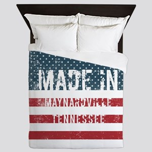 Made in Maynardville, Tennessee Queen Duvet
