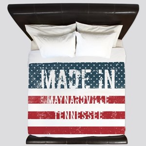 Made in Maynardville, Tennessee King Duvet