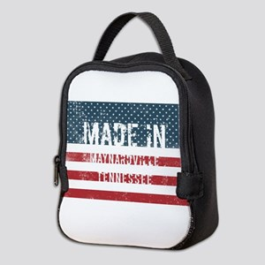 Made in Maynardville, Tennessee Neoprene Lunch Bag