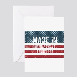 Tennessee flag greeting cards cafepress made in maynardville tennessee greeting cards reheart Image collections