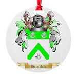 Hornblow Round Ornament