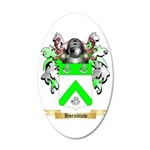 Hornblow 35x21 Oval Wall Decal