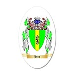 Hora 20x12 Oval Wall Decal