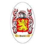 Hopton Sticker (Oval 50 pk)