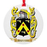 Hopkinson Round Ornament
