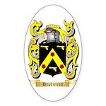 Hopkinson Sticker (Oval 50 pk)