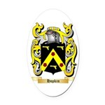 Hopkin Oval Car Magnet