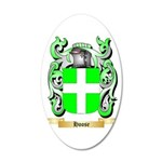 Hoose 20x12 Oval Wall Decal