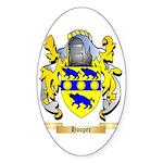 Hooper Sticker (Oval 50 pk)