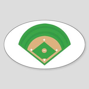 BaseballField_Base Sticker