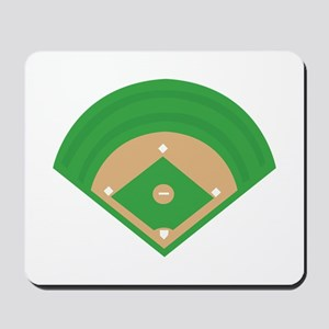 BaseballField_Base Mousepad