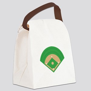 BaseballField_Base Canvas Lunch Bag