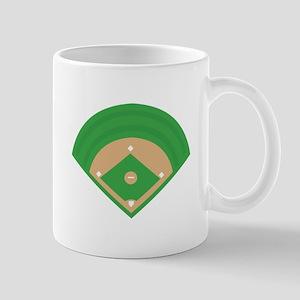 BaseballField_Base Mugs