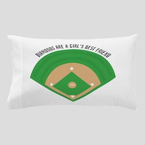 BaseballField_Diamonds Pillow Case