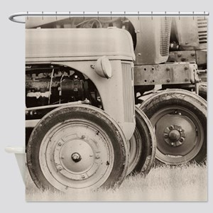 Farm Tractors Shower Curtain