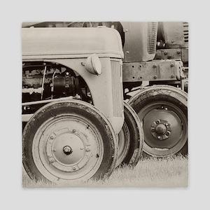 Farm Tractors Queen Duvet
