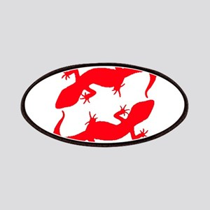 Red Leopard Geckos Patches