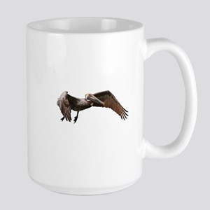 Pelican in Flight Mugs