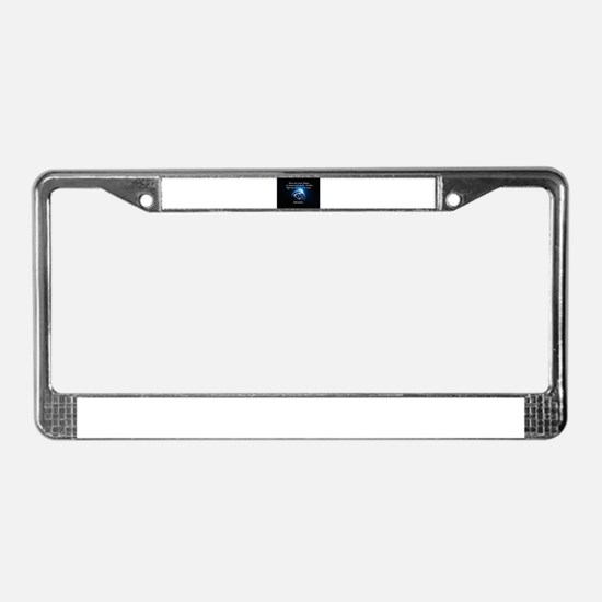 Heaven and Earth License Plate Frame