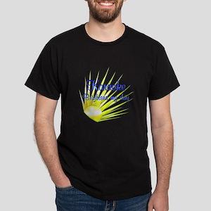 Knitting Brightens Dark T-Shirt