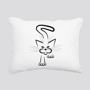 Stealth Attack! Rectangular Canvas Pillow
