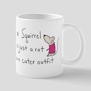 A Squirrel is Just a Rat Mug