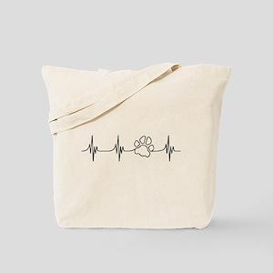 Paw Beat Tote Bag