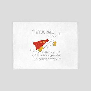 Super Pale 5'x7'Area Rug