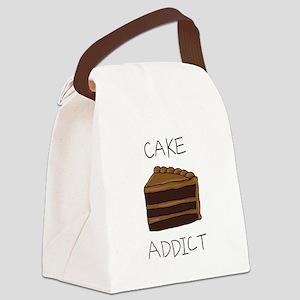 cake_addict Canvas Lunch Bag