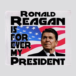 Reagan 4ever Throw Blanket