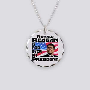 Reagan 4ever Necklace Circle Charm