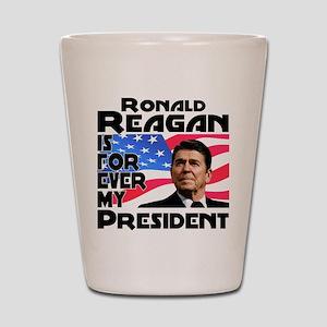 Reagan 4ever Shot Glass