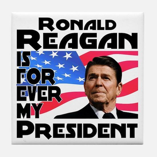 Reagan 4ever Tile Coaster