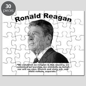 Reagan: Religion Puzzle