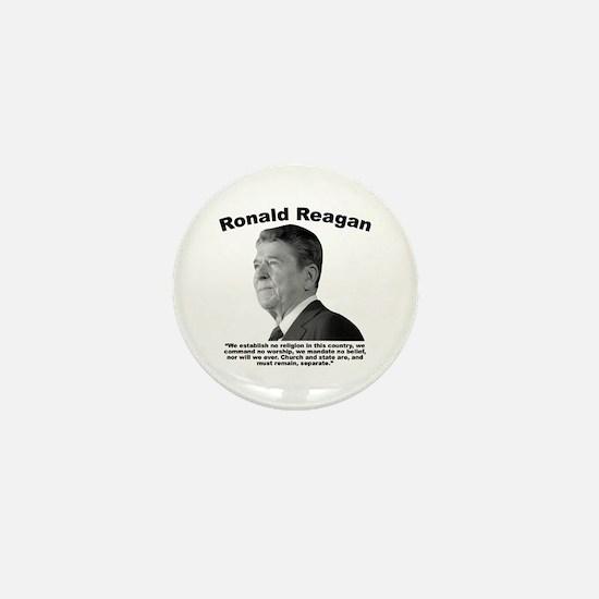 Reagan: Religion Mini Button