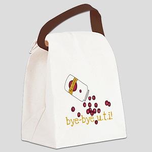 Bye Bye UTI - Cranberry Pills Canvas Lunch Bag