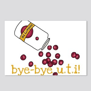 Bye Bye UTI - Cranberry Pills Postcards (Package o