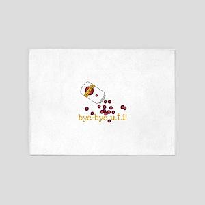 Bye Bye UTI - Cranberry Pills 5'x7'Area Rug