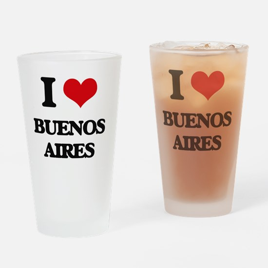 Cute Buenos aires Drinking Glass