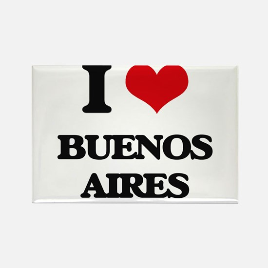 I love Buenos Aires Magnets